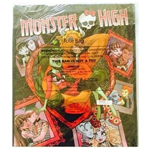 2014 San Diego Comic Con Monster High Tote Bag
